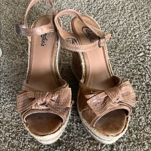 Candies wedge sandals